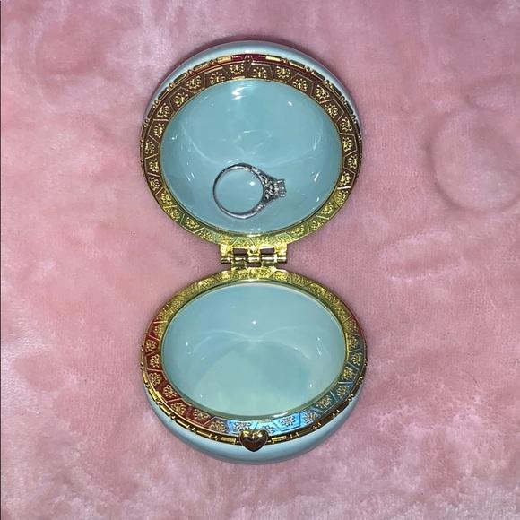 Other - AQUA-BLUE Macaroon Jewelry Holder 💙